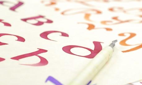 Calligraphie latine © Les Ateliers YouDo