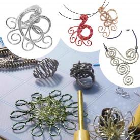 Bijoux en aluminium© Les Ateliers YouDo