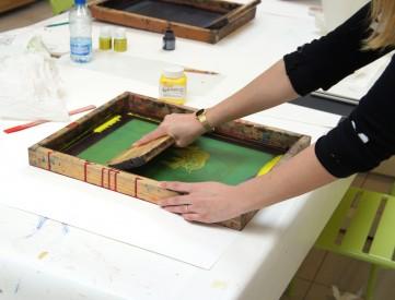 Initiation à la sérigraphie© Les Ateliers YouDo